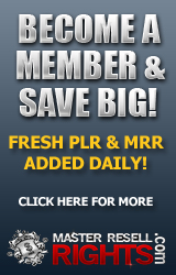Join the MRR and PLR Membership