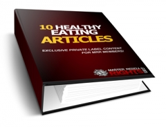 10 Healthy Eating PLR Articles