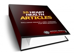 10 Heart Health PLR Articles