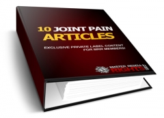 10 Joint Pain PLR Articles