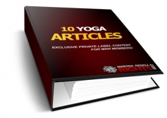 10 Yoga PLR Articles