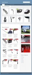 Amazon Affiliate Golf Store - PLR