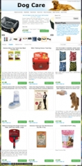 Amazon Dog Niche Blog Store - PLR