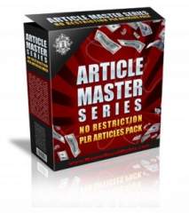 Article Master Series V29 - PLR