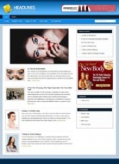Beauty Tips Niche Blog - PLR