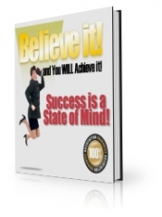 Believe it and You WILL Achieve it - PLR