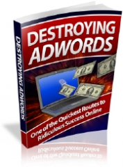 Destroying Adwords - PLR