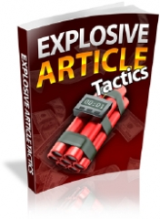 Explosive Article Tactics - PLR