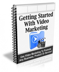 Getting Started With Video Marketing PLR Newsletter