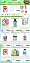Herbal Supplements PLR Niche Blog