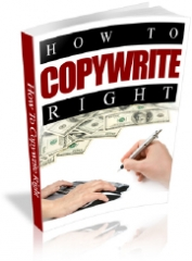 How to Copywrite Right - PLR