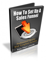 How To Set Up A Sales Funnel - PLR Upgrade