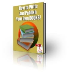 How To Write and Publish - PLR