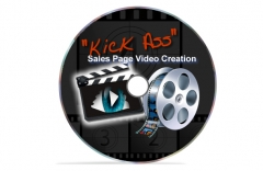 Kick Ass Sales Page Video Creation - PLR