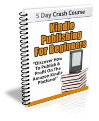 Kindle Publishing For Beginners Newsletter - PLR