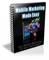 Mobile Marketing Made Easy PLR Newsletter