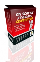 On Screen Keyboard Generator