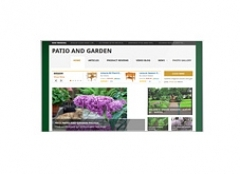 Patio and Garden Review Website - PLR