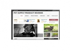 Pet Supply Review Website - PLR
