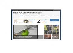 Pocket Knife Review Website - PLR