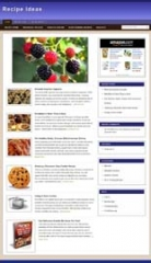 Recipe Niche Blog - PLR