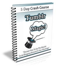 Tumblr Magic PLR Newsletter Set