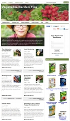 Vegetable Garden Tips Niche Blog - PLR