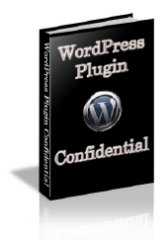 WordPress Plugin Confidential - PLR
